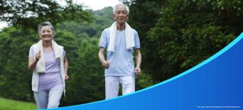 healthy diet and exercise for elderly ps